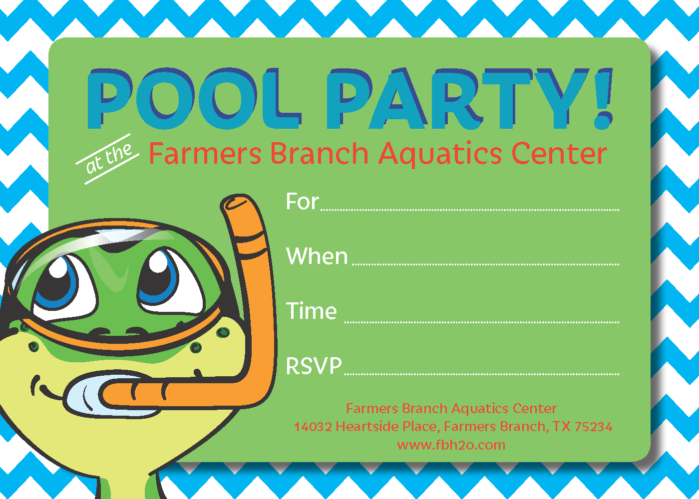 Rentals | Farmers Branch Aquatic Center - Official Website